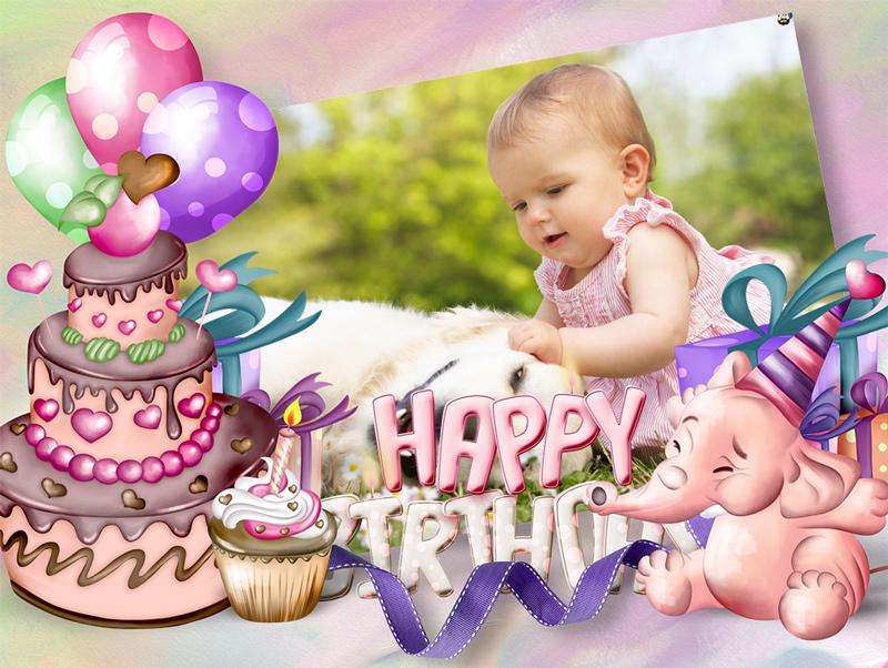 Tổng hợp những mẫu thiệp sinh nhật cho bé siêu dễ thương
