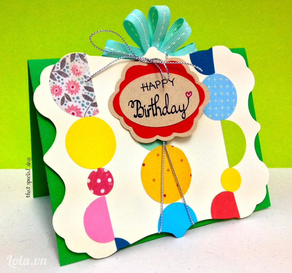Một số mẫu thiệp sinh nhật bạn trai Cực Đẹp nhất