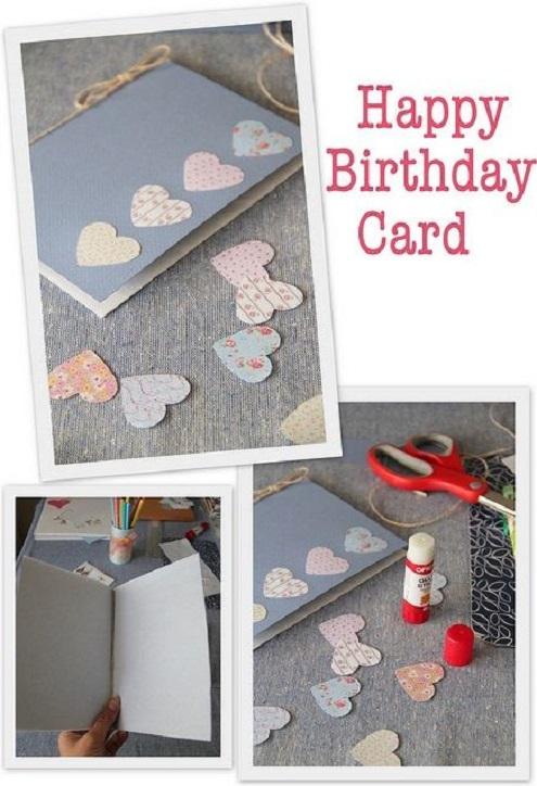 Thiệp sinh nhật dễ thương dành cho cô gái dịu dàng