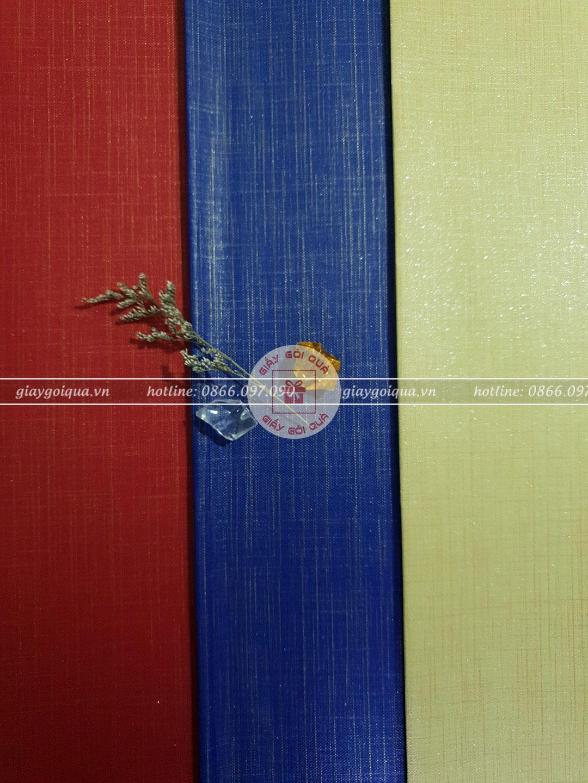 Những mẫu giấy màu đẹp tại Quà Tặng Độc
