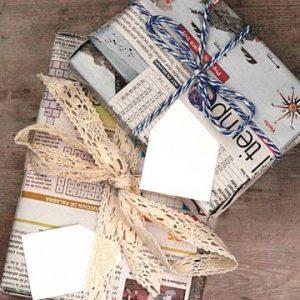 20+ Cách gói quà đẹp lung linh từ giấy gói quà vintage